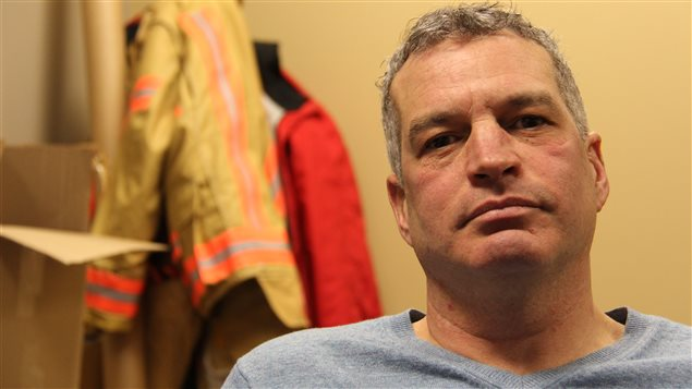 Pierre Bélanger a été congédié après la manifestation du 18 août dernier à l'hôtel de ville de Montréal.