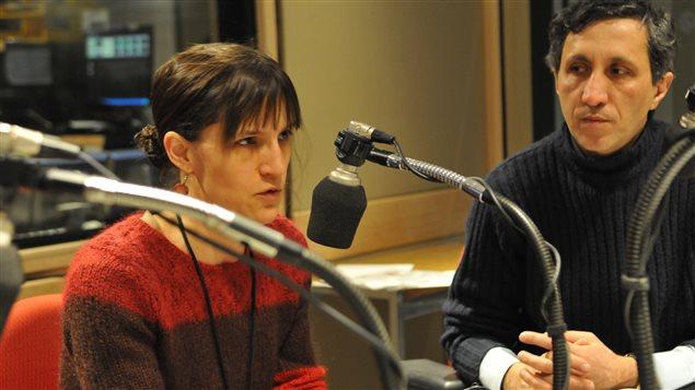Dre Marie-Claude Goulet, médecin en CLSC, et Dr Amir Khadir, député de Québec solidaire et médecin