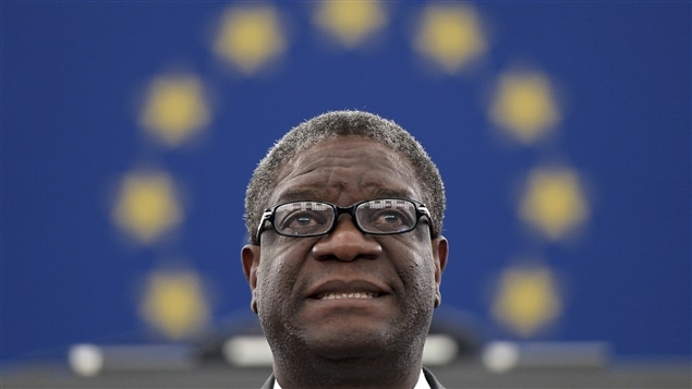 Le médecin congolais Denis Mukwege