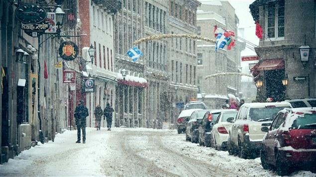 Le Vieux-Montréal en hiver