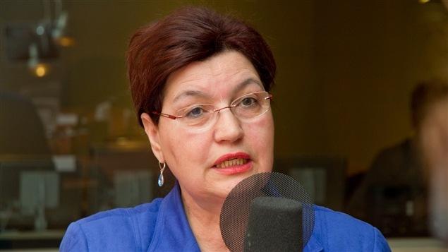 La consultante, militante et ancienne député Fatima Houda-Pepin