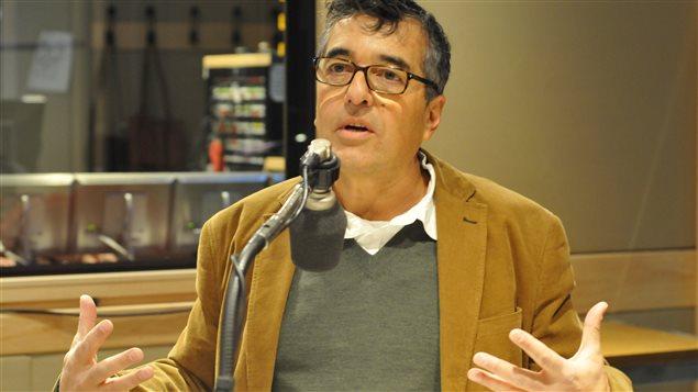 Pierre Céré, candidat à la direction du Parti québécois