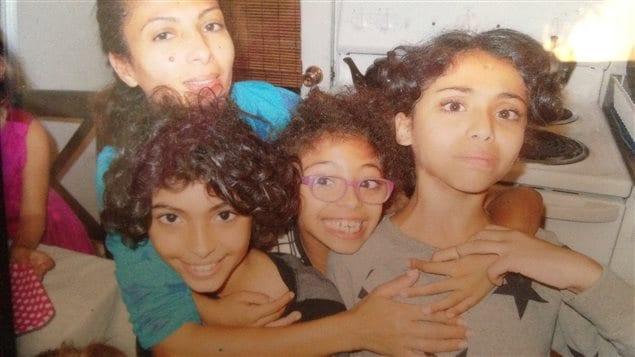 Ensaf Haïdar et ses enfants ont lancé une campagne pour faire libérer Raïf Badawi.