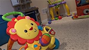 Des jeux pour enfants dans une garderie à Ottawa.