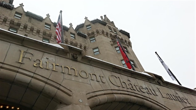 L'hôtel Fairmont Château Laurier, à Ottawa, le 9 février 2015