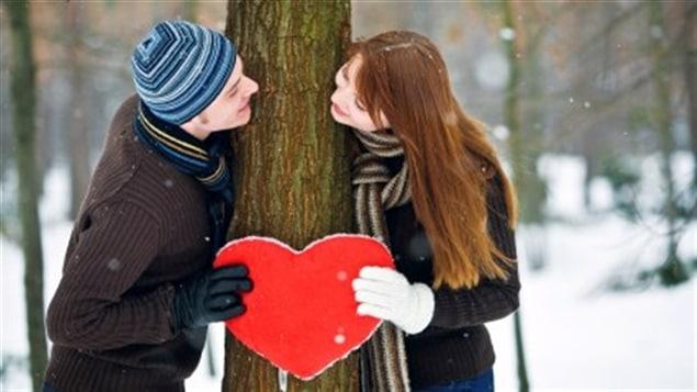 Un couple d'amoureux
