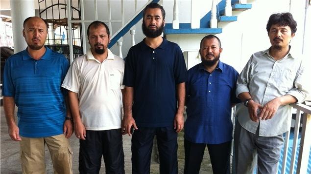 Quelques protagonistes du documentaire <i>Ouïghours, prisonniers de l'absurde</i>, de Patricio Henríquez