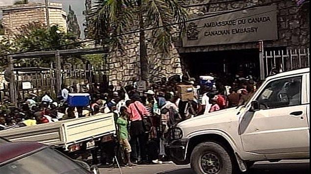 L'ambassade du Canada à Port-au-Prince