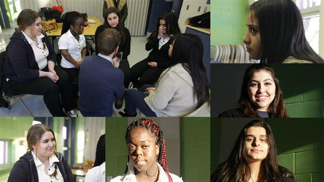 Hugo Lavoie a demandé à cinq adolescentes de Montréal-Nord de lui parler d'amour