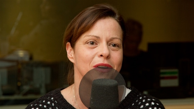 La comédienne Maude Guérin