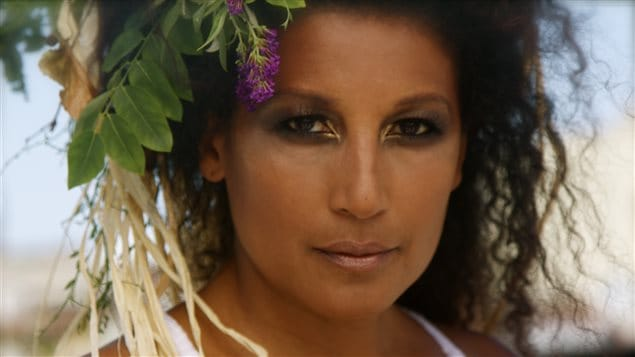 La chanteuse d'origine malgache Razia Said.