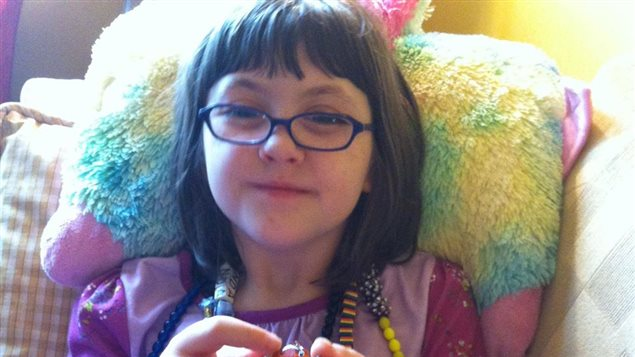 La petite Maranda, de Regina, est atteinte du syndrome d'Andersen-Tawil, une maladie rare.