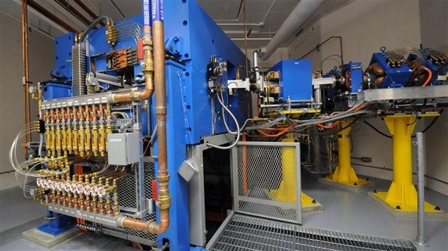 Le cyclotron est au cœur du laboratoire de TRIUMP