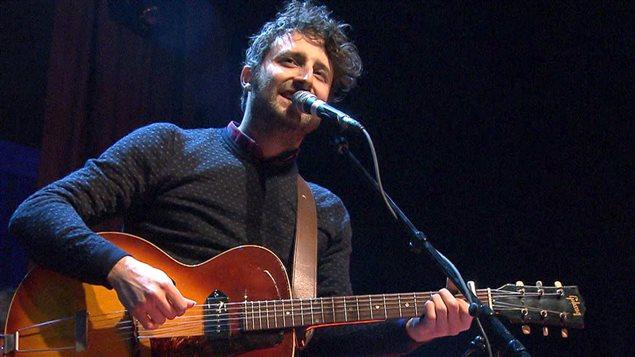 Louis-Jean Cormier, à Montréal en lumière en 2014