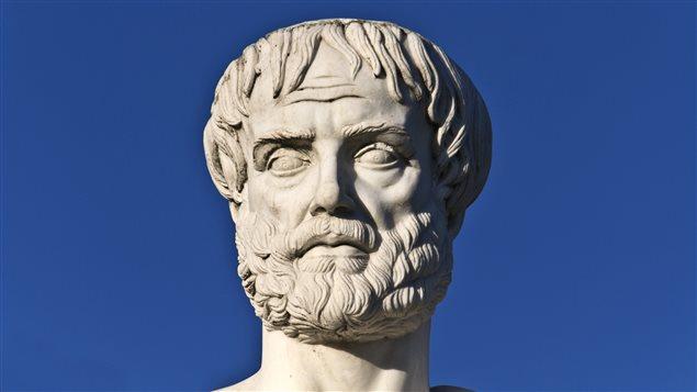Une sculpture à l'effigie d'Aristote