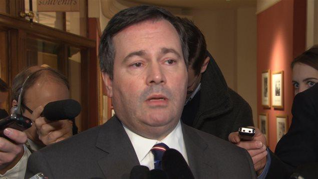 Le ministre canadien de la Défense, Jason Kenney.