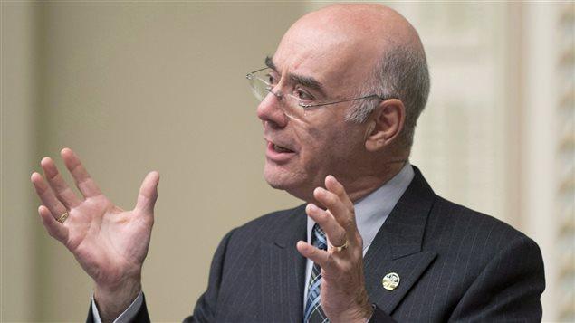 Le ministre Jacques Daoust