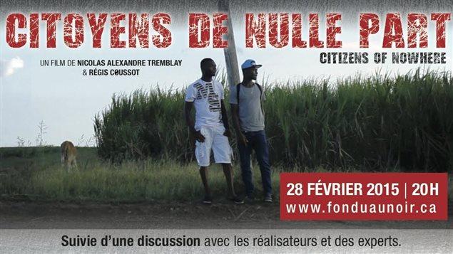 Citoyens de nulle part, un film de Nicolas-Alexandre Tremblay et Régis Coussot