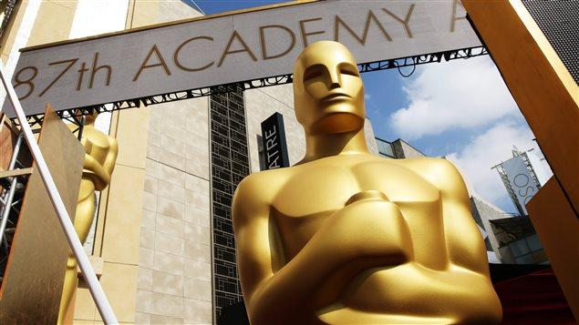 La 87e cérémonie des Oscars, à Los Angeles