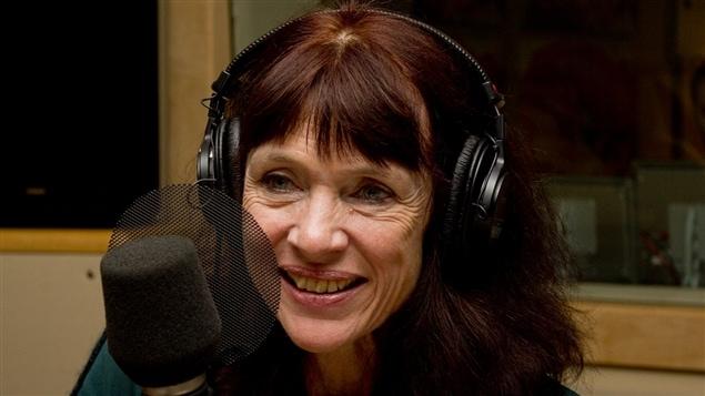 L'auteure Nancy Huston en 2013