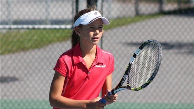 Mélodie Collard, joueuse de tennis de Gatineau