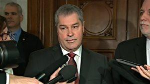 Le ministre Bolduc a annoncé sa décision de retourner à la pratique médicale.