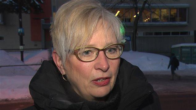 La directrice des communications du Collège de Maisonneuve, Brigitte Desjardins
