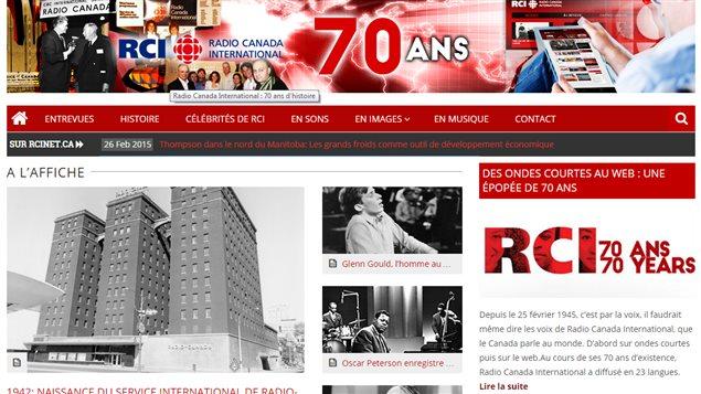 Les 70 ans de Radio-Canada International