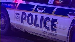 Un véhicule du Service de police de la Ville de Gatineau (archives)