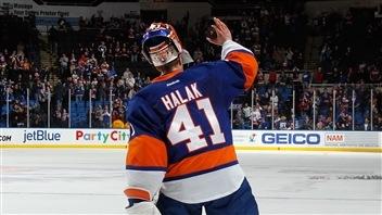 Halak établit un record d'équipe dans un gain des Islanders