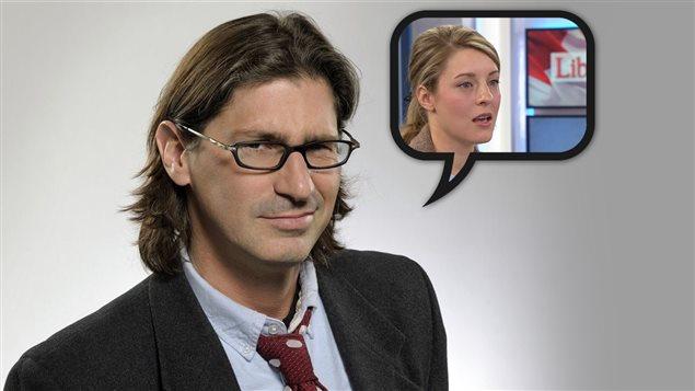Jean-René Dufort explique à Mélanie Joly que les discours creux rendent cyniques.