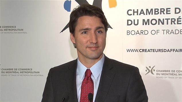 Justin trudeau en mode s duction avec les montr alais le for Chambre de commerce du canada