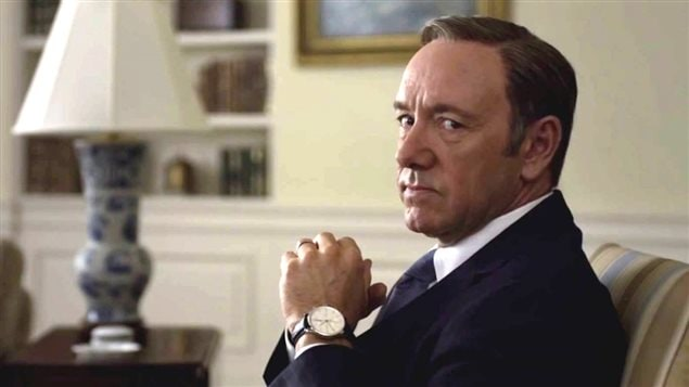 La s�rie <i>House of cards</i>