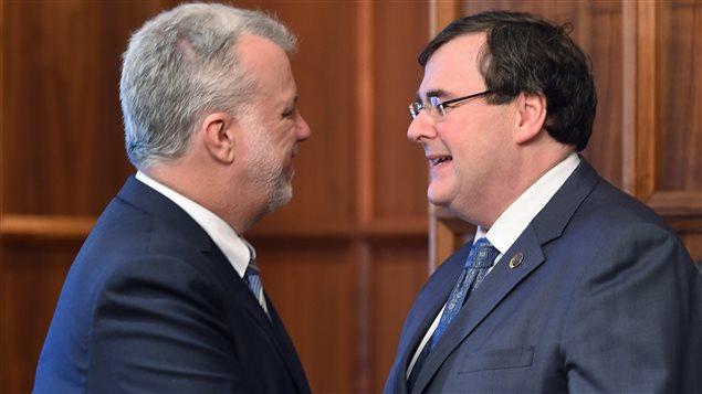 François Blais hérite du ministère de l'Éducation et de l'Enseignement supérieur du Québec. Sa nomination a été confirmée ce matin par le premier ministre Philipe Couillard.