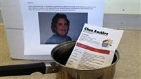 Livraison de casseroles aux bureaux de Couillard