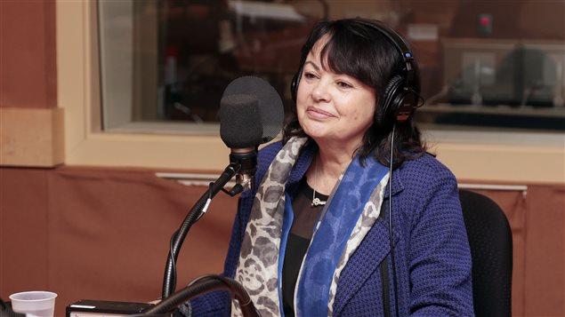La comédienne Louise Portal