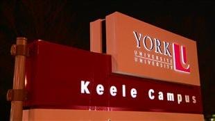 Grève à l'Université York de Toronto