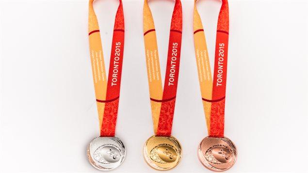 Les médailles des Jeux parapanaméricains de Toronto