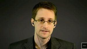 Edward Snowden en téléconférence