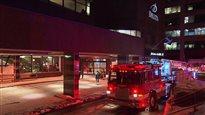 Un incendie force l'évacuation du Delta Québec