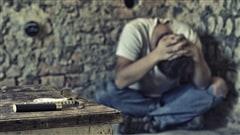 Un jeune toxicomane