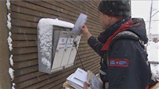 Livraison du courrier à domicile