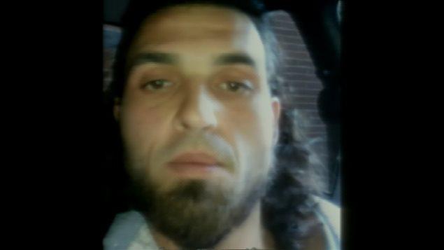 Image tirée de la vidéo de Michael Zehaf-Bibeau