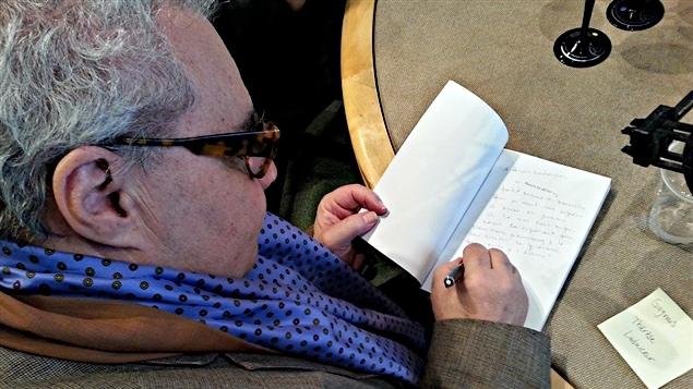 Michel-Rémi Lafond présente son nouveau livre « Beaux et bêtes ».