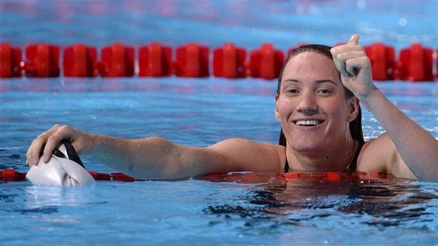 La campeona olímpica Camille Muffat