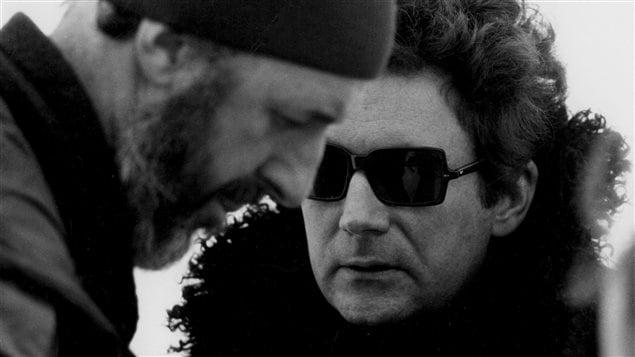 Michel Brault et Claude Jutra, image tir�e du film <I>ONF un survol : Claude Jutra</I>
