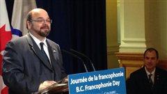 Réal Roy de la Fédération des francophones de la Colombie-Britannique