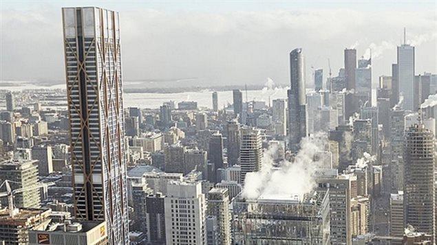 Projet « The One » : 80 étages de condominiums et de magasins au coeur de Toronto
