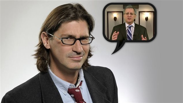 Jean-René Dufort parle des propos de Jean Tremblay envers Greenpeace.