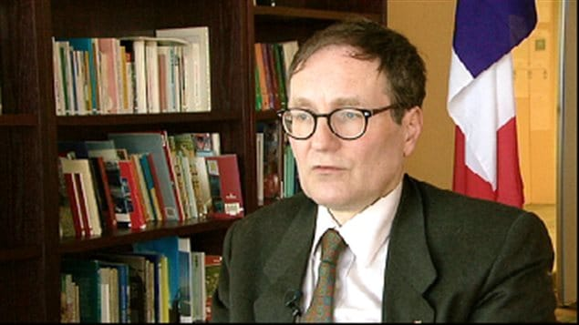 Le consul général Vincent Hommeril
